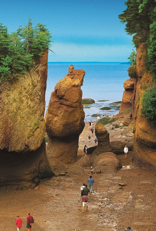 Bay of Fundy in Canada