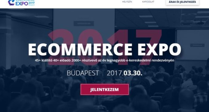E-COMMERCE EXPO MEGHÍVÓ